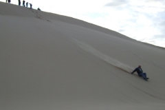 Great dunes slopes