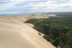 The Largest mobile sand dunes in the southern hemisphere