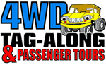 4WD Tag-Along and Passenger Tours Logo