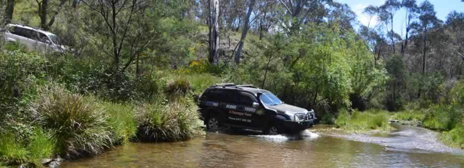 tagalong 4wd river crossing